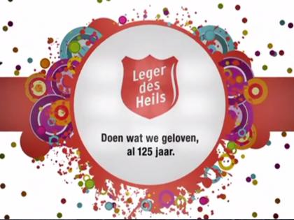 Majoor Bosshardt Gala 2012 – 125 jarig jubileum Leger des Heils